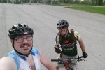 Scott and Andy pre ride 2015