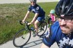 Scott, Niki & Reece riding Mariner Trail