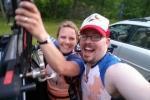Niki & Scott post ride