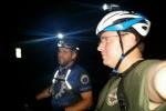 Scott & Pete night riding High Cliff