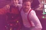 Niki Becky and Mark Christmas Parade 2014