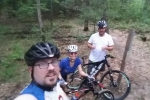 Loren, Scott, Nick riding 2015