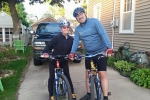 Scott & Loren pre ride 2015