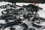 Snowbike Growler Classic start line