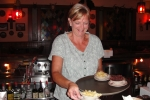 awesome waitress at German restauraunt on tour