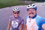 Morning ride Niki & Scott 2015