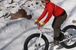 Snowbike race at Bearpaw Resort 2012-Niki