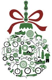 bike christmas orn.